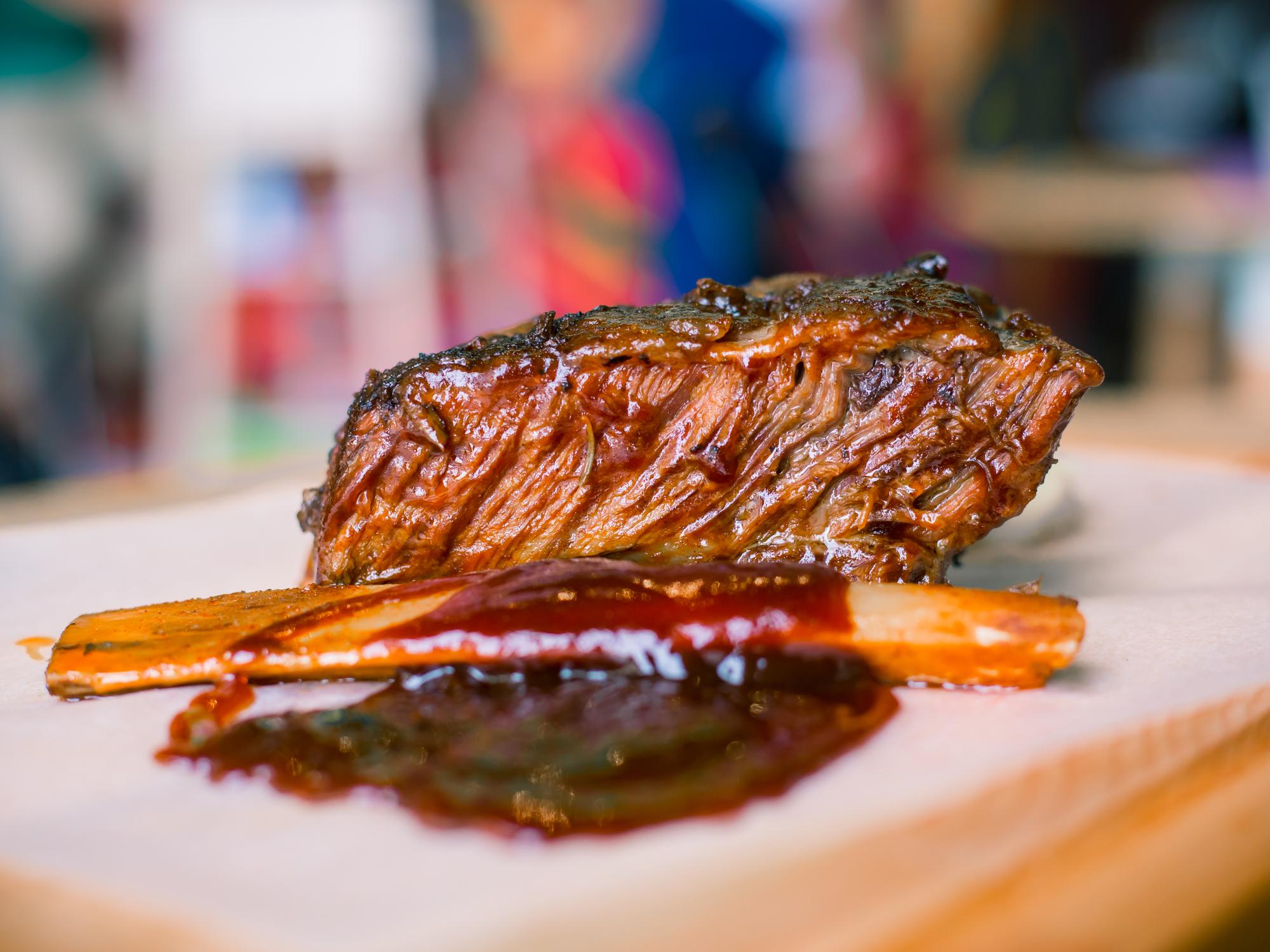 10 - BBQ rib from D'Meat Yard, Saudi Arabia