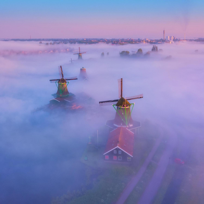 13 - Zaanse Schans, Netherlands, photo by Albert Dros
