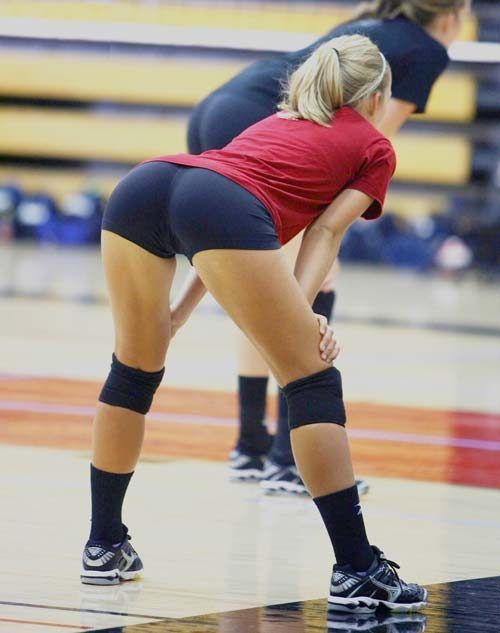 What Hot volleyball girls pussys think
