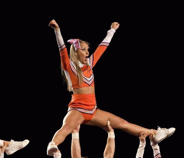 Perfectly Timed Pictures Cheerleader Edition