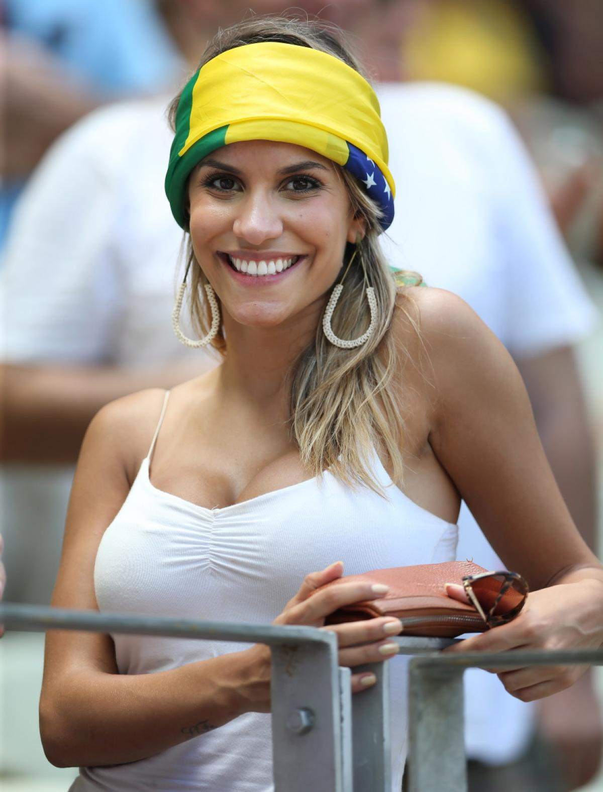 Hot Brazilian Girl pertaining to 26 hottest fans of the world cup - pop culture gallery | ebaum's world