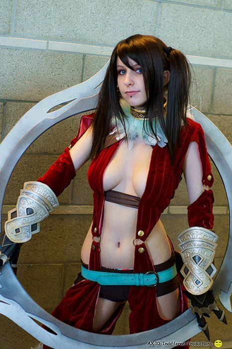 Sexy gamer cosplay