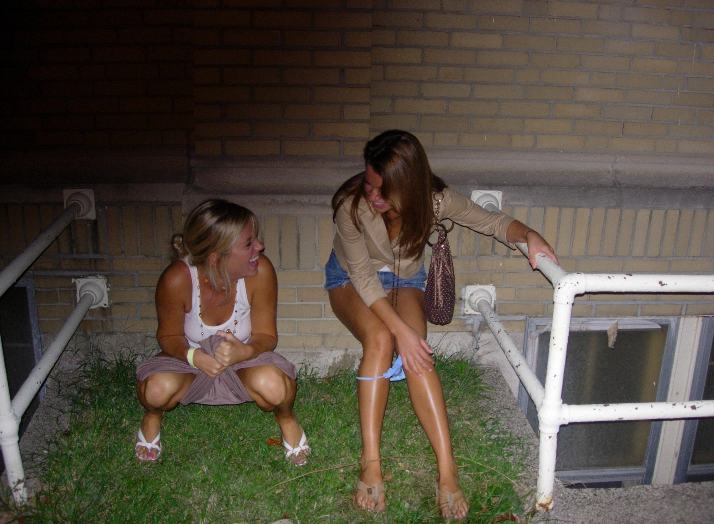 Really. candid pictures women peeing