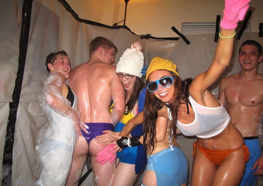 A Sex party at college