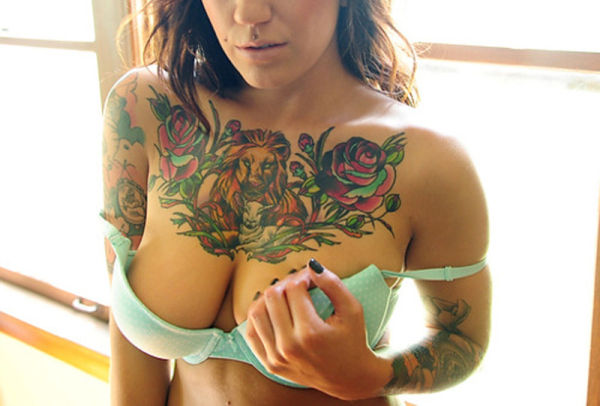 Tits With Tats 15