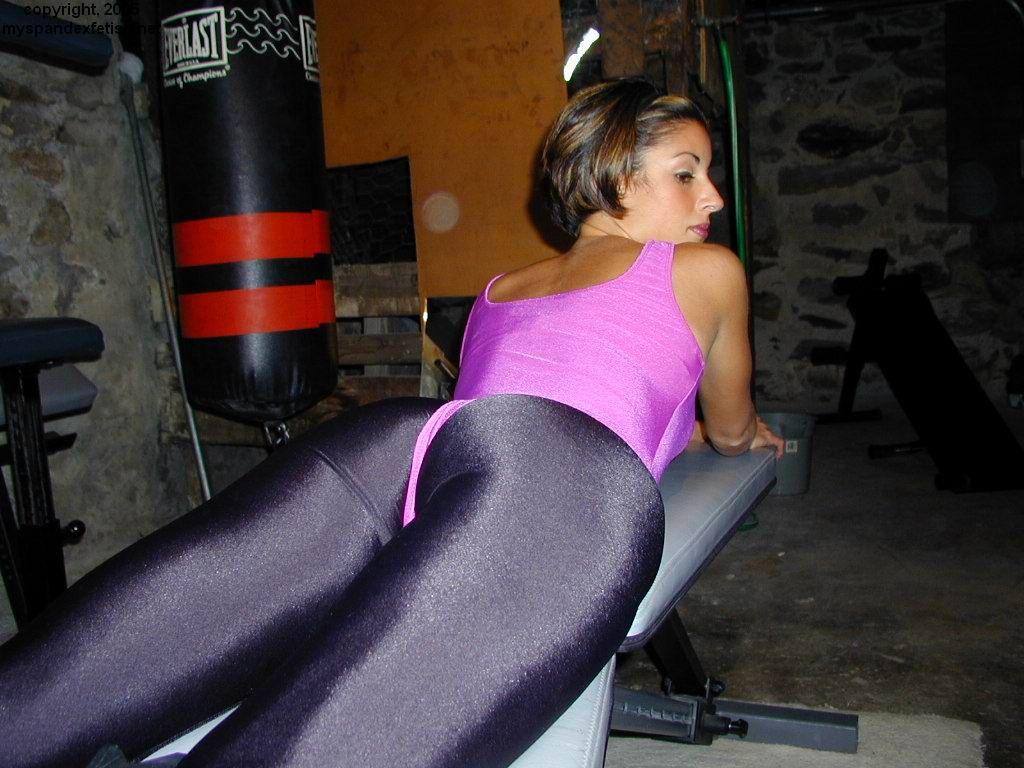 Lycra Leggings Porno