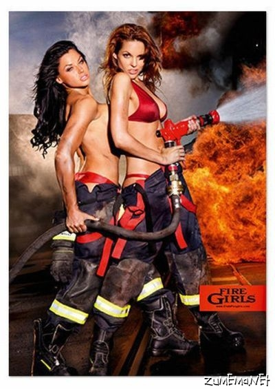 fire woman Sexy