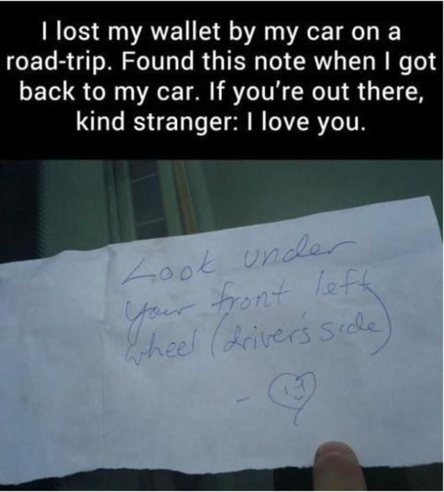 Acts That Restore Your Faith In Humanity Gallery EBaums World - 19 random acts of kindness that will restore your faith in humanity