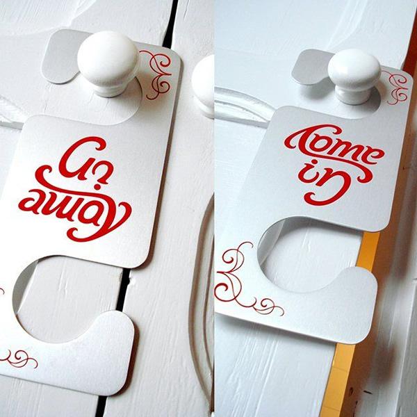 Do Not Disturb: 15 More Creative Hotel Door Hangers! - Gallery ...