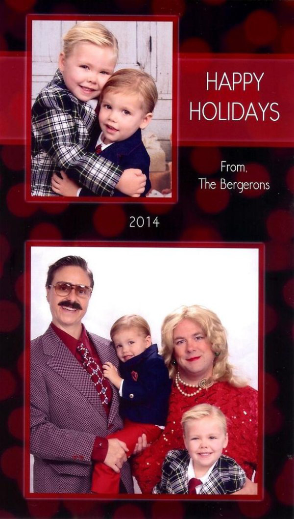 One couple sends out the best Christmas cards every year - Gallery ...