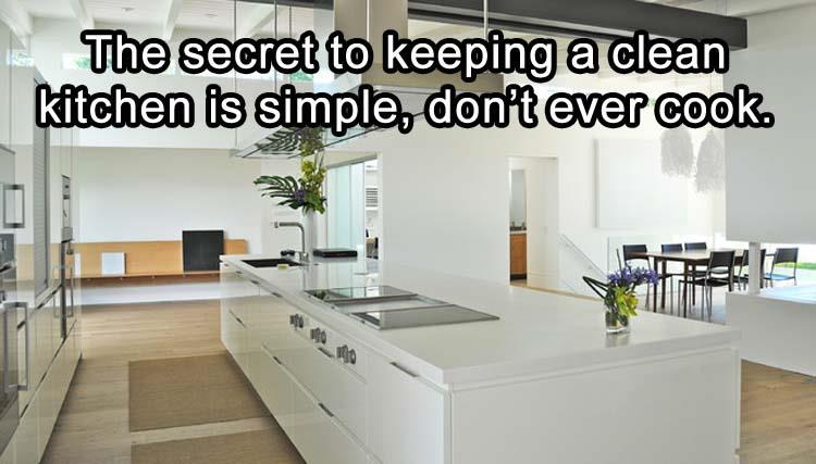 10 - Very nice kitchen with a great secret on how to keep it clean.