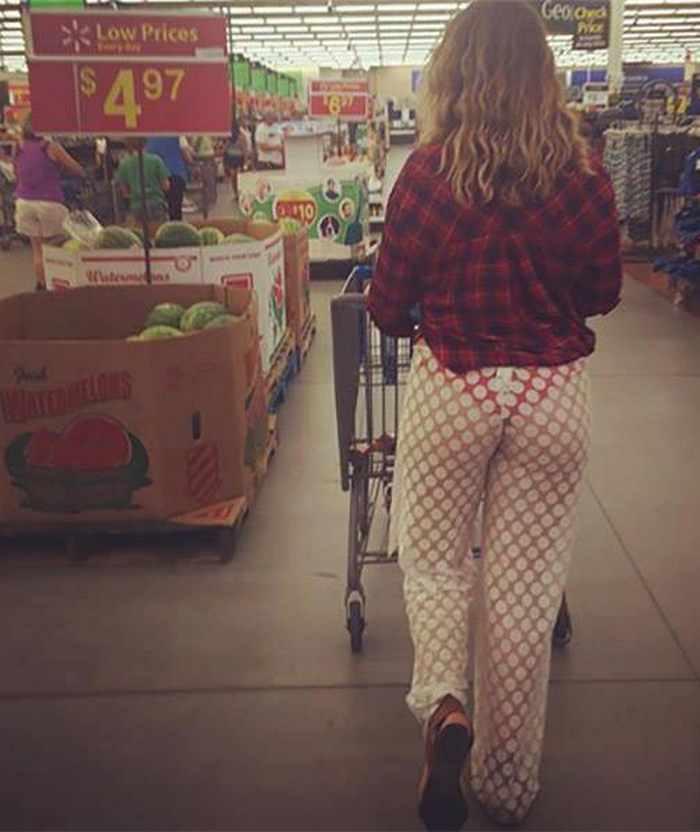 Crazy Things You May See At Walmart