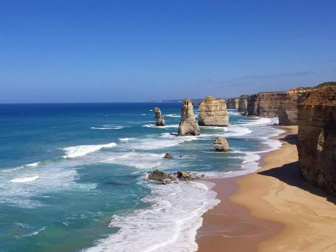 24 - The unreal-looking Twelve Apostles on the coast of Australia are worth a trip.