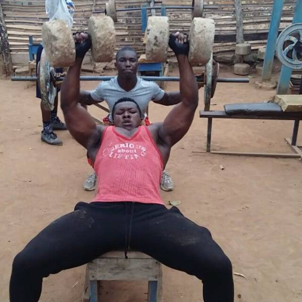 1 - In Africa They Don't Need A Real Gym –