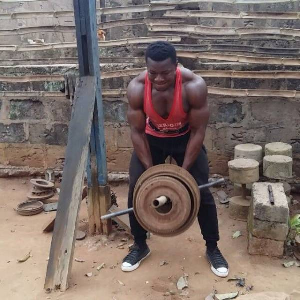 2 - In Africa They Don't Need A Real Gym –