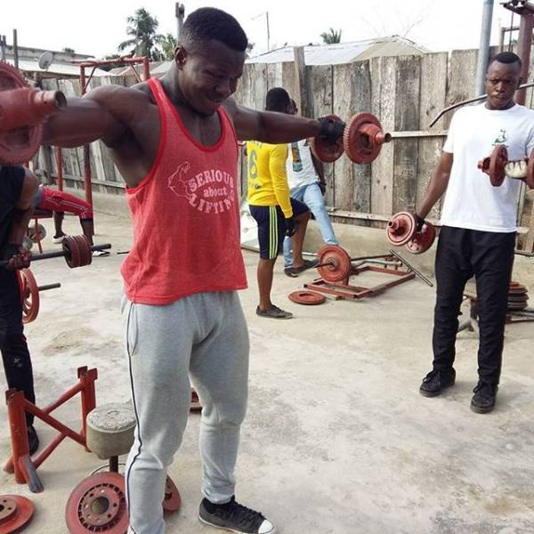 6 - In Africa They Don't Need A Real Gym –