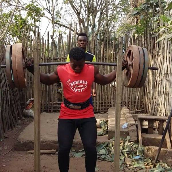 7 - In Africa They Don't Need A Real Gym –