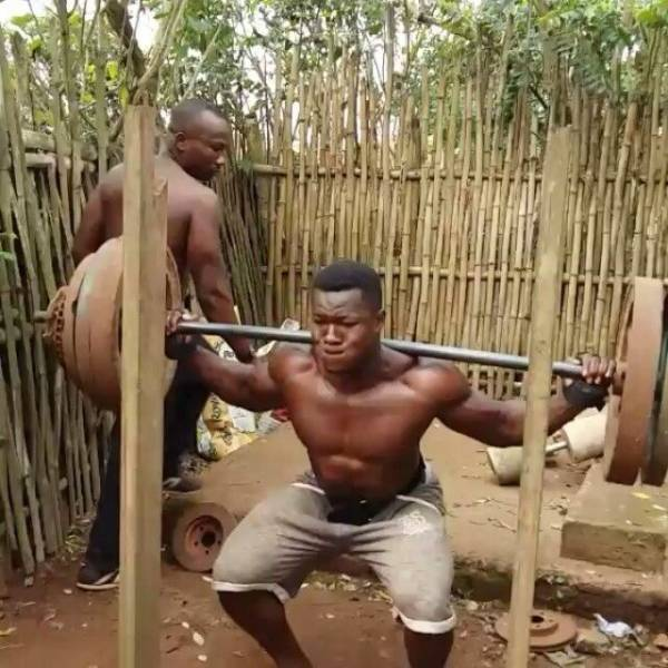 9 - In Africa They Don't Need A Real Gym –