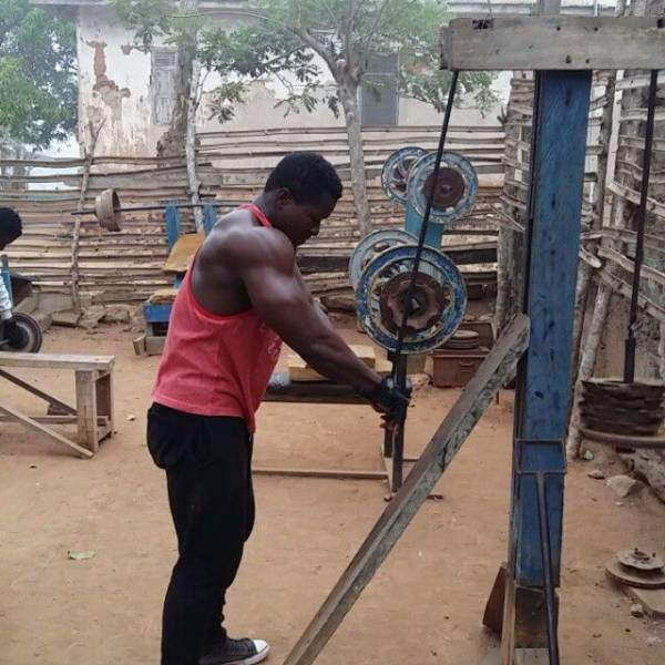 10 - In Africa They Don't Need A Real Gym –