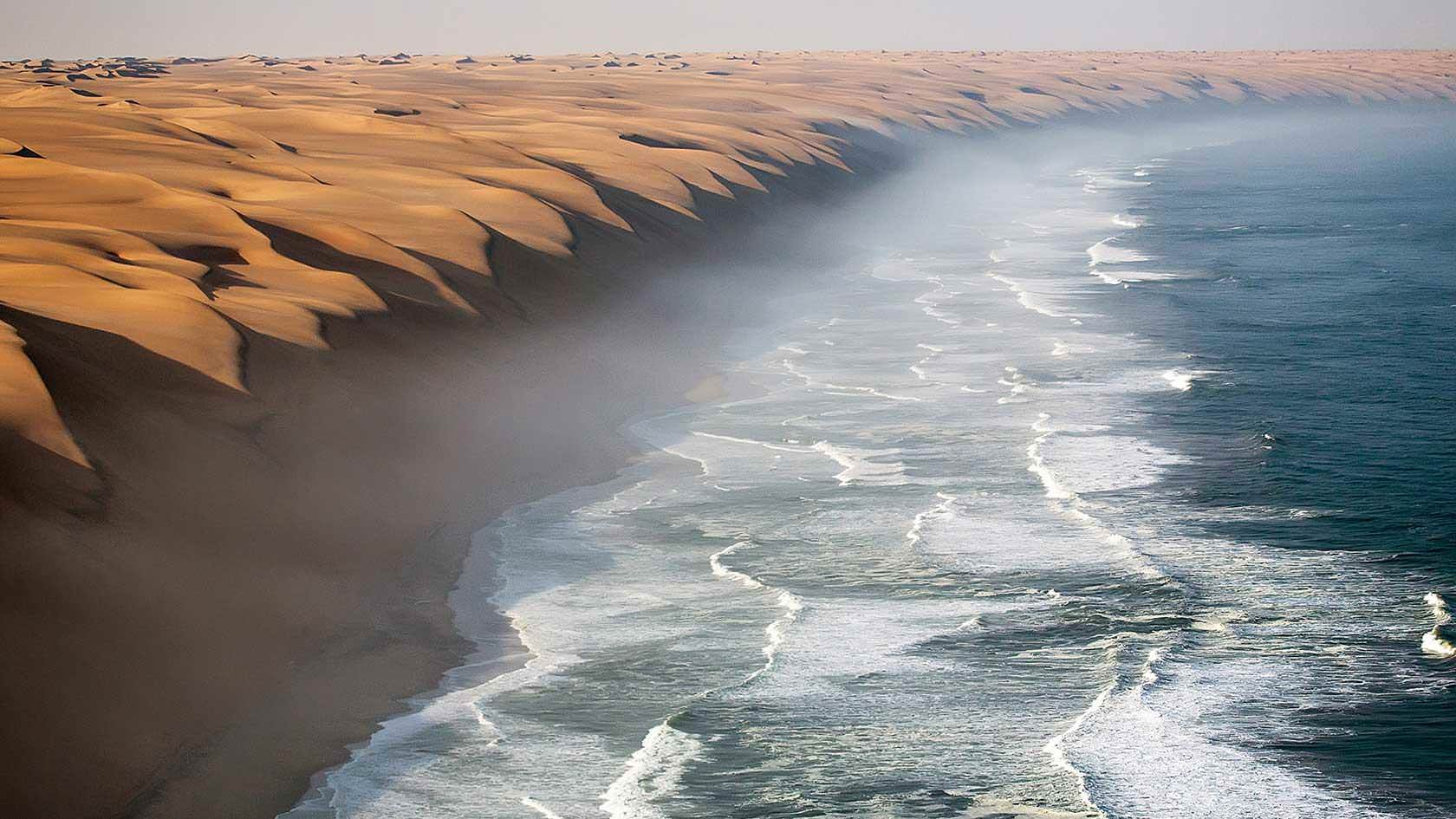 5 - Where the desert meets the ocean