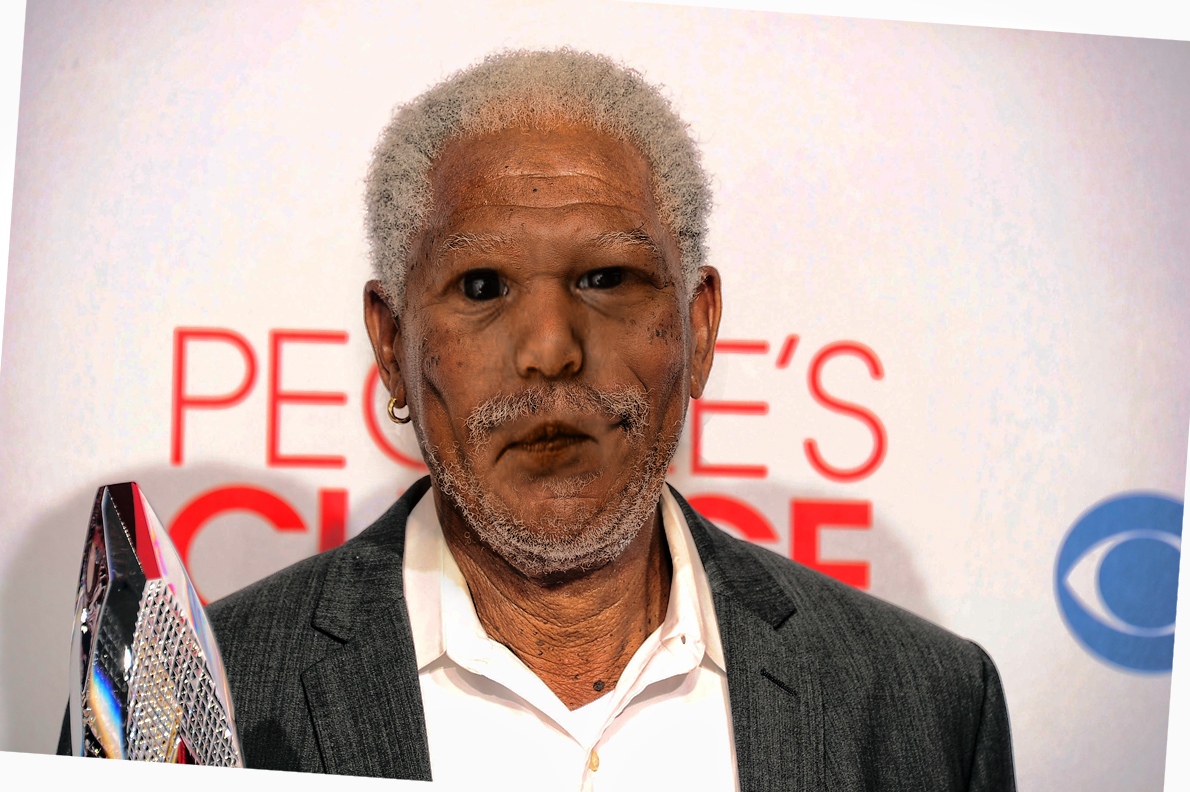 Morgan Freeman Picture Ebaum S World