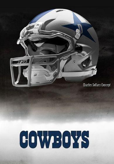Charles sollers nfl concept helmets gallery ebaum 39 s world - Dallas cowboys concept helmet ...