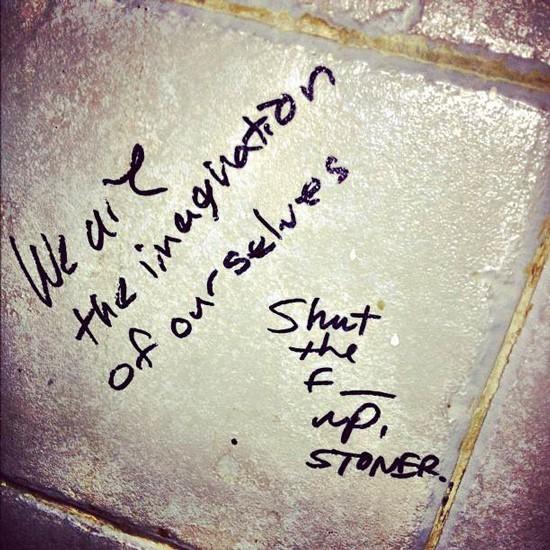 Bathroom Graffiti - Gallery