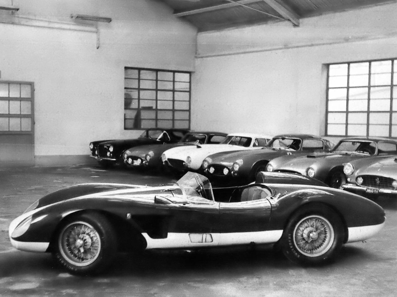 1955 dodge royal lancer convertible cream black fvr cars - 41 1955 Ferrari 375 America One Off Built For Fiat Chief Gianni Agnelli Bw