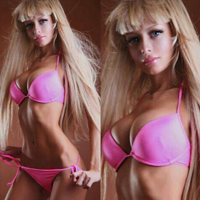 2 - Unlike lesser Human Barbies, Kenova says that her look is 100 percent natural.