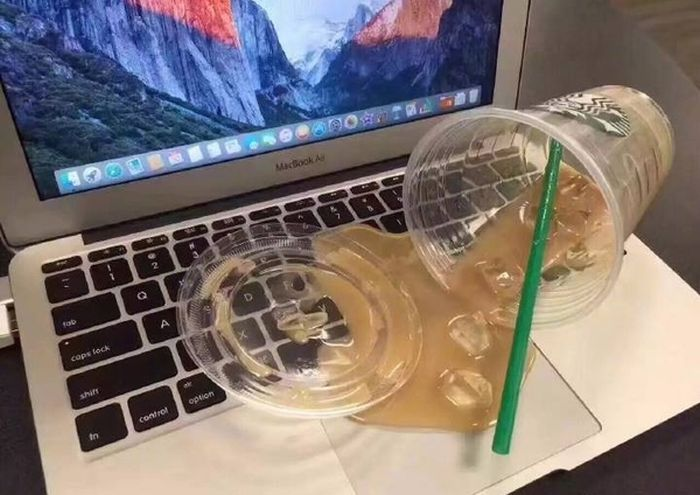 How To Make A Fake Spilled Drink