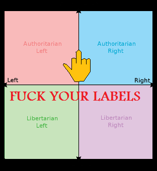 my political compass   picture ebaum s world