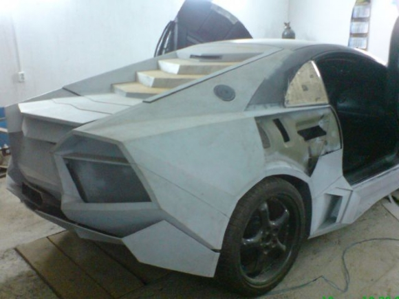 12 - Dude Turns Car Into Lamborghini