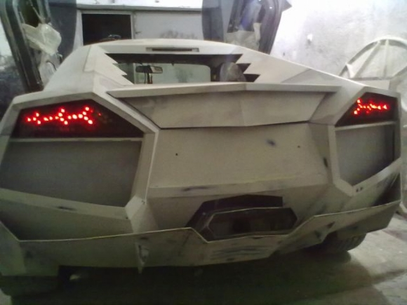 17 - Dude Turns Car Into Lamborghini