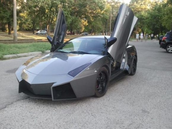 23 - Dude Turns Car Into Lamborghini