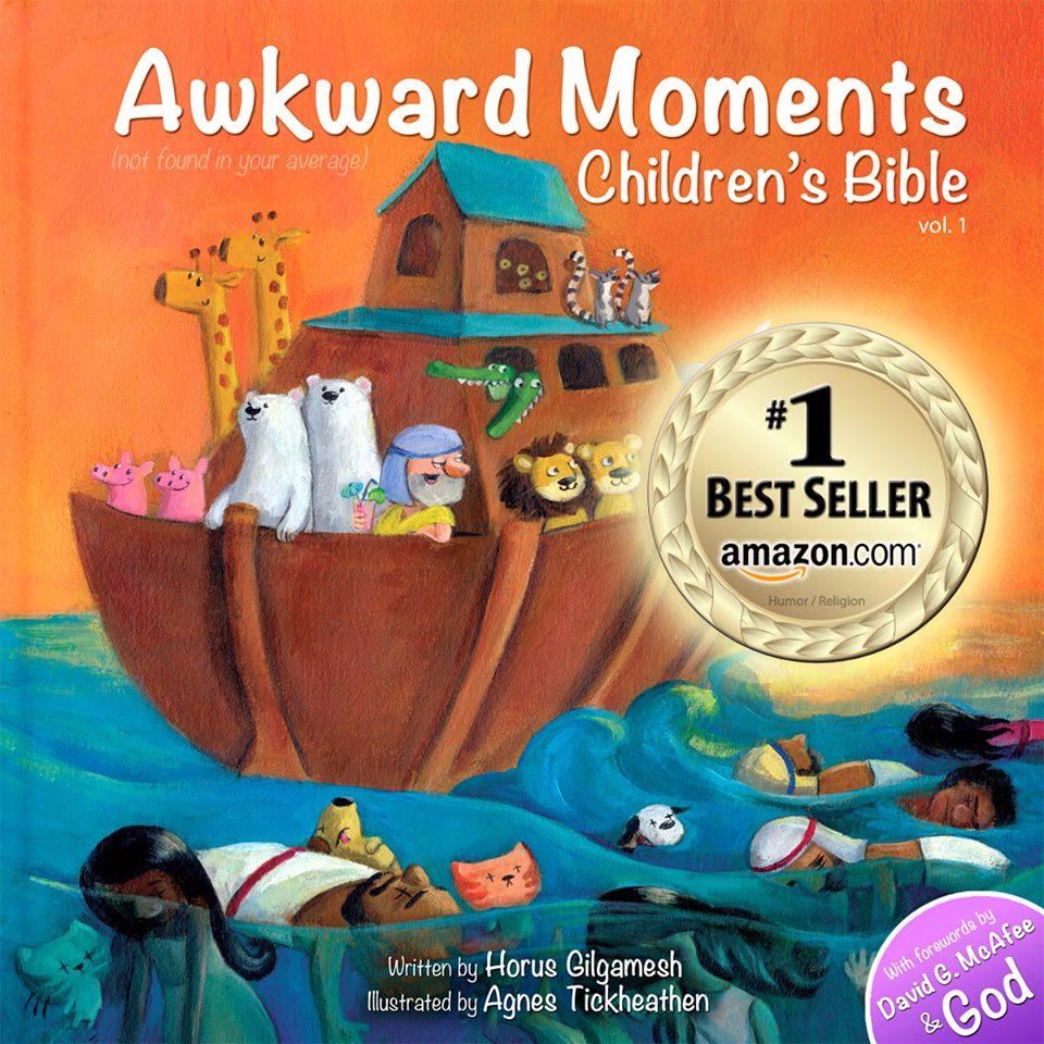awkward moments not found in your average childrens bible