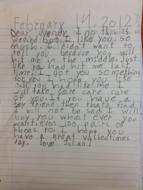 15 Of The Funniest Notes Ever Written By Kids - Page 3 of 5