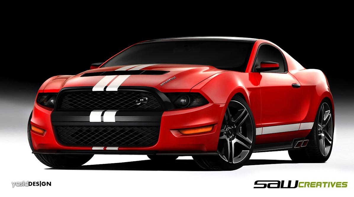 1 - 2014 Ford Mustang concept & 2014 Ford Mustang concept - Gallery   eBaumu0027s World markmcfarlin.com