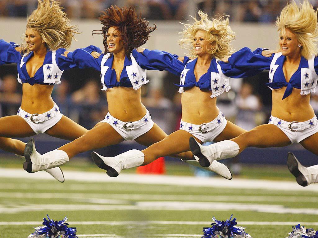 Cheerleader splits Sexy