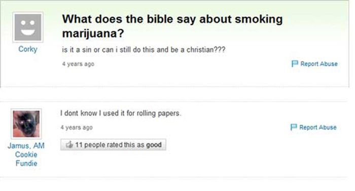 Funny Silly And Dumb Yahoo Answers Gallery EBaums World - 50 ridiculous questions ever asked yahoo answers