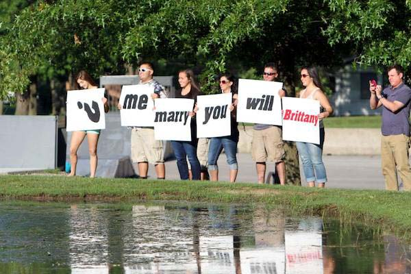 20 Of The Worst Marriage Proposals Ever Pop Culture Gallery