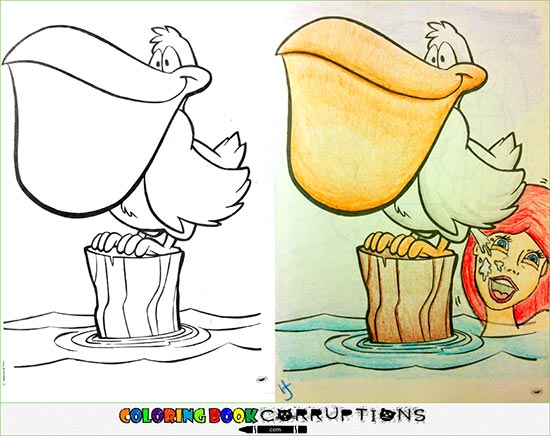 Inappropriate Children Coloring Book Drawings