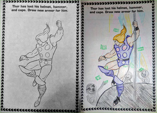 23 Coloring Book Corruptions That Just Might Ruin Your Childhood