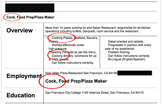 insane resumes that show you how to not get a job gallery
