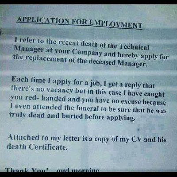 Insane Resumes That Show You How To Not Get A Job - Gallery ...