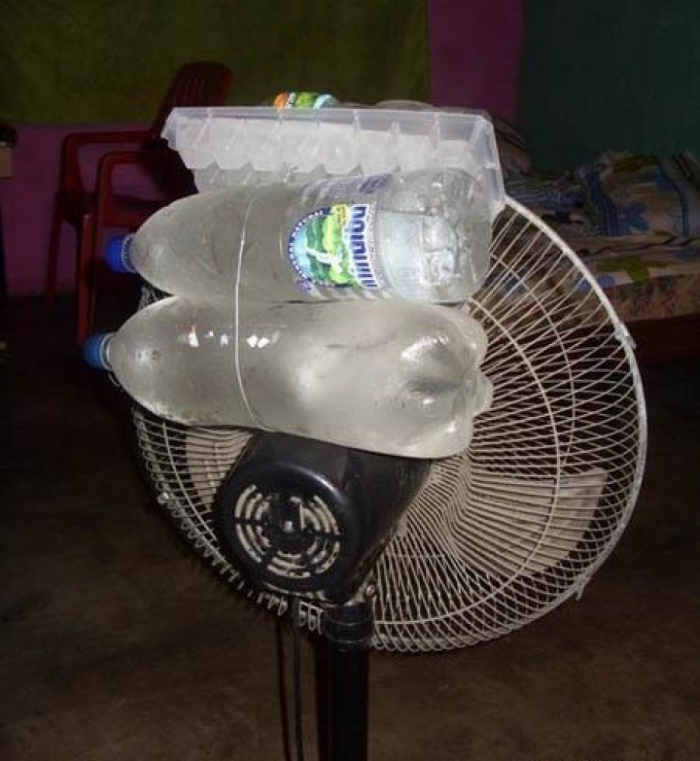 2 - 15 Hilarious Homemade Air Conditioners