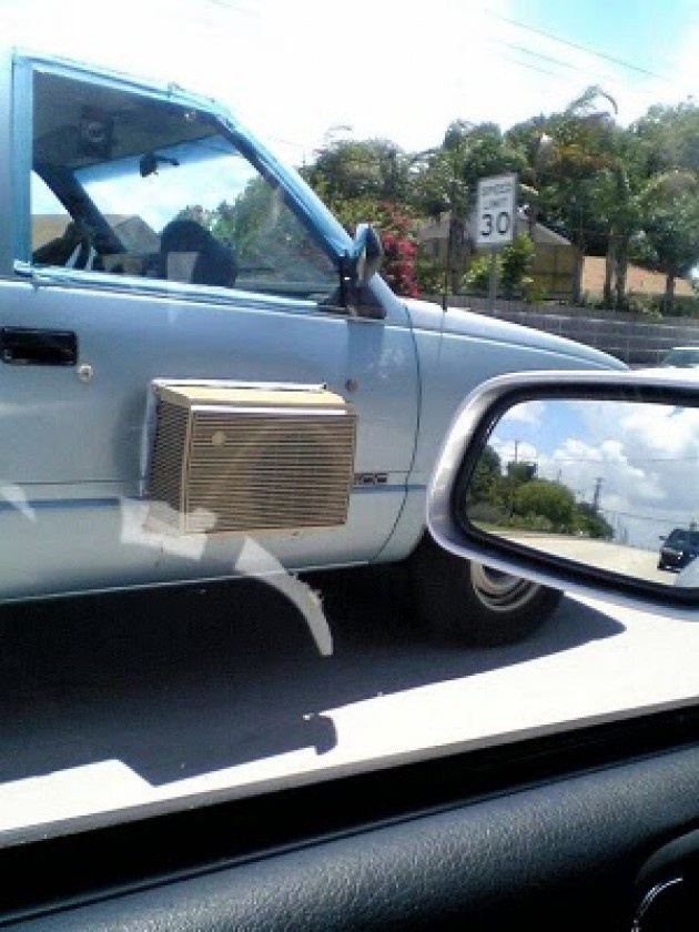 4 - 15 Hilarious Homemade Air Conditioners