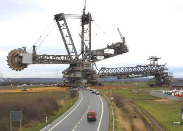 14 - Bagger 288 is the biggest excavator built by the German company Krupp.