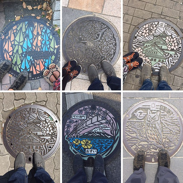 1 - Manhole covers in Japan are beautiful!