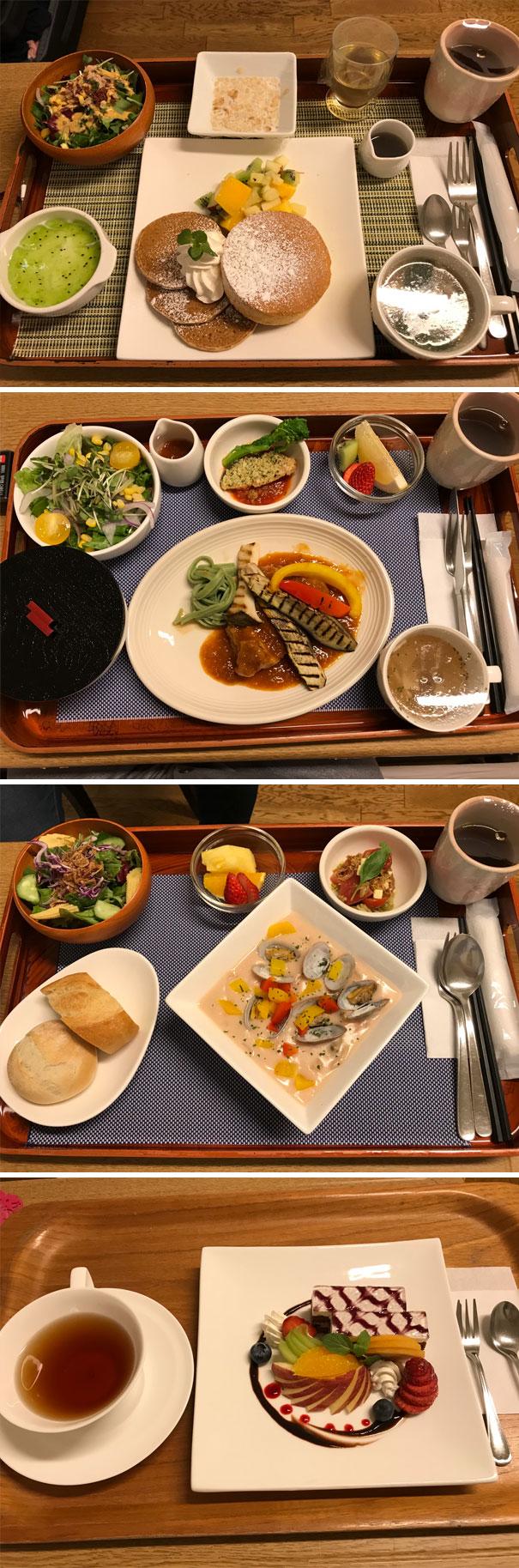 7 - Japanese hospital food.
