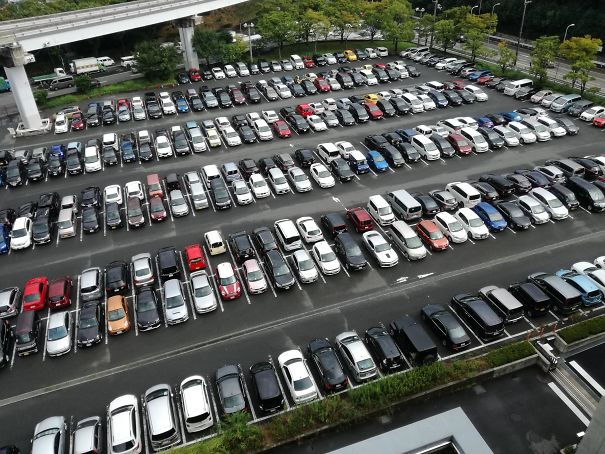 26 - Almost everyone in Japan reverse parks.